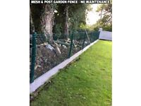 Garden fencing- No maintence