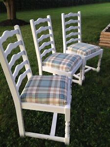 Gorgeous Antique custom finished Dining Chairs