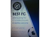 Casual players wanted, 11aside football, BARNES