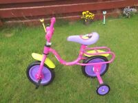 DISNEY MINNIE-MOUSE BOW-TIQUE TODDLERS BIKE
