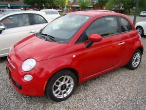 2012 FIAT 500 Pop Auto with Extended Warranty