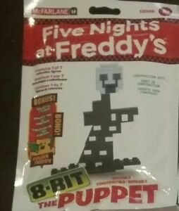 Mcfarlane Five Nights at Freddy's 8-Bit Buildable Figure Puppet