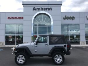 2015 Jeep Wrangler SPORT Soft Top, Manual Transmission