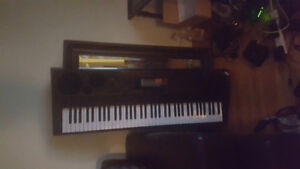 CASIO 76 key electronic piano with USB midi cable