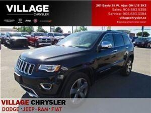 2016 Jeep Grand Cherokee Limited|Panosunroof|Nav|Tech Pkg|Leathe