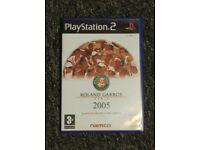 Roland Garros 2005 powered by Smash Court Tennis PS2 game