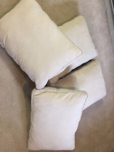 4 Spotless Outdoor pillows from Pier 1 - Priced to move