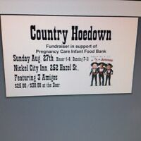 Country hoedown tickets