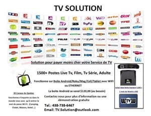 IPTV Television Service - More than 1800 HD Channels!!!