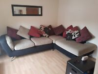 Excellent condition Corner Sofa and Snuggle Chair