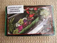 Box Tidy Car Boot Foldable Expandable 4 compartment Storage Organiser Keeps Shopping & Plants Stable