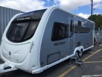 Sterling Elite Explorer 2013 twin axle. 4 berth. Excellent condition. Loads of extras!!