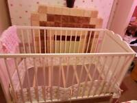 Baby Cot from new born to Three years.