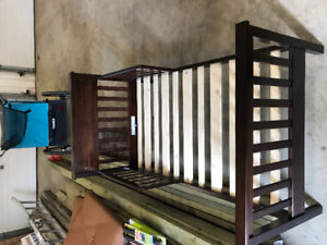 Toddler bed frame $80 used for less then a month