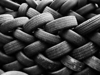 Waste tyres wanted! Free uplift!