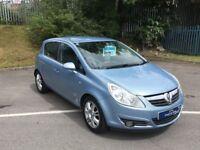£20 wk LEATHER SEATS/LOW mileage!! Vauxhall CORSA design 1.4 petrol manual 2008 (58) NEW mot ALLOYS