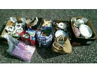 JOB LOT OF CAR BOOT / HOUSEHOLD / CHINA ITEMS