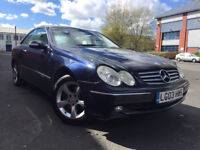 SUPERB Mercedes CLK320 ELEGANCE V6 92K PSH LONG MOT