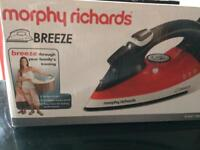 Morphy Richards iron NEW