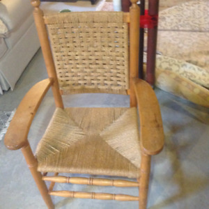 Vintage wooden chair.