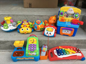 Fisher Price Baby Toy Lot