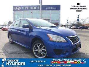 2014 Nissan Sentra 1.8 SR |AUTO|LOW KMS|ALLOYS|EXTRA TIRES