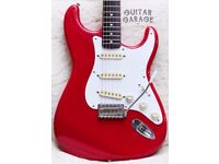 1988 Fender Japan Vintage Stratocaster Torino Red guitar with rosewood neck - MINT! MIJ! CAN POST!