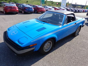 1980 Triumph TR7 Mint Condition