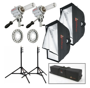 Photoflex Starlite QL SilverDome Tungsten Dual Light Kit