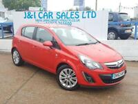 VAUXHALL CORSA 1.4 SE 5d 98 BHP A LOW PRICE 5DR FAMILY HATCHBACK (red) 2013