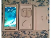 Excellent iPhone 6, 16 gb, Gold, O2 network, can deliver