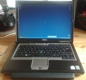 "Dell D630 laptop 14.1"", 2.5 GHz, 4G, 150G"