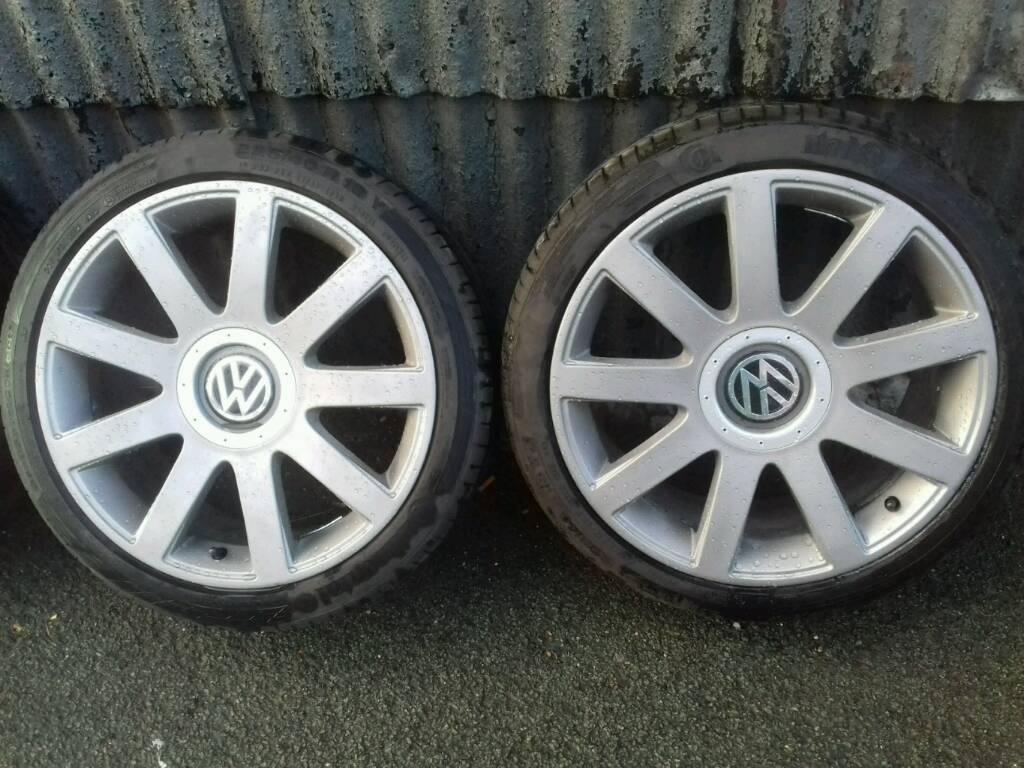 Vw 18 inch alloy wheels 5x100 5x112