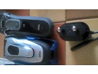 2 Braun Shavers perfect condition just £30