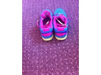 Girls size 1 trainers