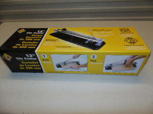 "12"" Tile Cutter NEW in Box"
