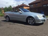 Mercedes Benz CLK 240 CONVERTIBLE