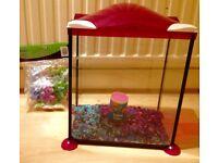 fish tank (glass)