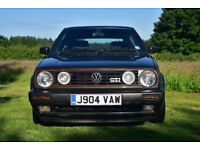 Classic Volkswagen Golf GTI MK2 8V OAK GREEN.Stunning example,full service history,owned since 2001