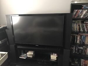 """Toshiba 52"""" TV with Stand"""