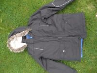 Boys Black Marks and Spencers Coat size 11-12