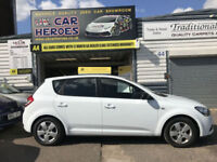 2009 KIA CEED (1) 1.4 PETROL 5 DOOR H-BK 90 BHP+ 12 MONTH (AA) WARRANTY INCLUDED