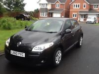60 PLATE MEGANE EXPRESSION 1.5 DCI 5 DOOR CHEAP ROAD TAX £30 AYEAR GREAT CONDITION