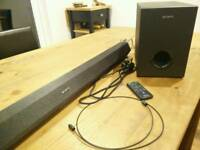 Sony HT-CT60BT Soundbar 2.1 (Bluetooth, optical, coaxial)