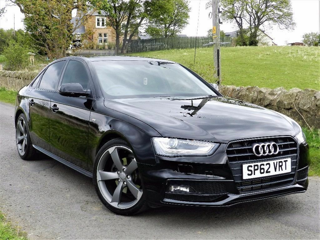 2012 audi a4 s line black edition 2 0 tdi 175 bhp 19 alloys finance available in portobello. Black Bedroom Furniture Sets. Home Design Ideas