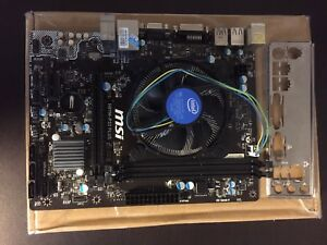 Motherboard and CPU combo H81M-P33 and i3-4170T