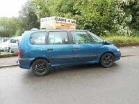 Renault Espace Expression 2.2cc DCI Estate 7 SEATER with tow bar good family car and toeing caravan.