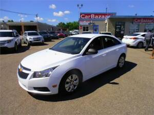 2014 CHEVROLET CRUZE 1LT 1.4L 4 CYL LOW PRICE EASY FINANCE PLANS