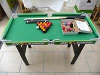 POOL/SNOOKER TABLE 3FT KIDS 5+ CHAD VALLEY TOY