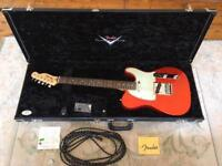 Fender Custom Shop - 2009 - Custom Deluxe Telecaster - Candy Tangerine